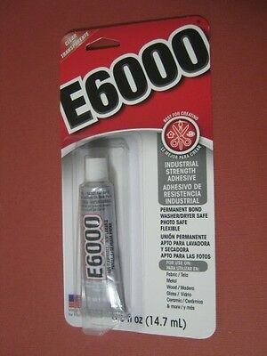 E6000 Adhesive glue for Reborn dolls ( 14.7mls) Made in the USA
