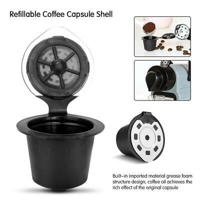 Stainless Steel Reusable Refillable Coffee Capsules Pod Cup For Nespresso TU