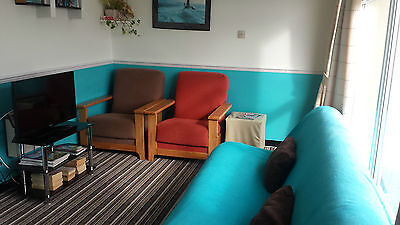 4 Berth Chalet Holiday Haven Perranporth Cornwall Now to 27/07/19 UCC