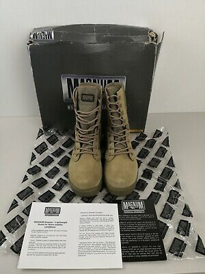 0b27cc81df7 NEW MAGNUM AMAZON 5 Desert Boots For Warm Weather, Light Weight - Size 5  Large