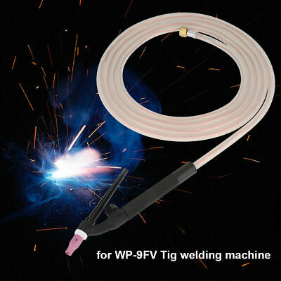 Silicone Hose Welding Torch 4.15m Flexible For WP-9FV Tig Weld Machine Tool 1pc