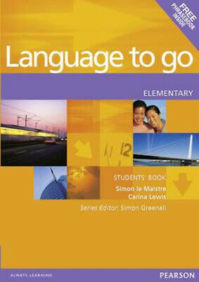 NEW Language to Go Elementary Students Book By Le Maistre, Simon & Lewis, Carina