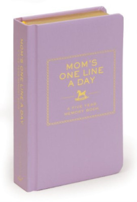 Chronicle Books Llc (Cor)-Mom`S One Line A Day BOOK NEW