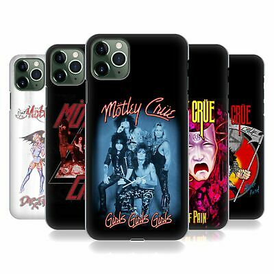 OFFICIAL MOTLEY CRUE KEY ART HARD BACK CASE FOR APPLE iPHONE PHONES