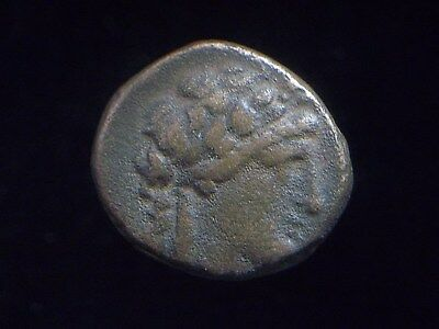 Greek AE16 of King Antiochos II, Theos Seleukid Kingdom, 261-246 BC  CC8983