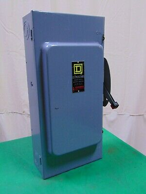 Square D Heavy Duty Safety Switch 200 Amp 150 HP 3 Phase