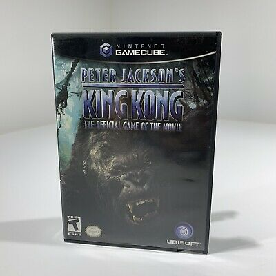 King Kong The Official Game of the Movie Nintendo GameCube Game Cube