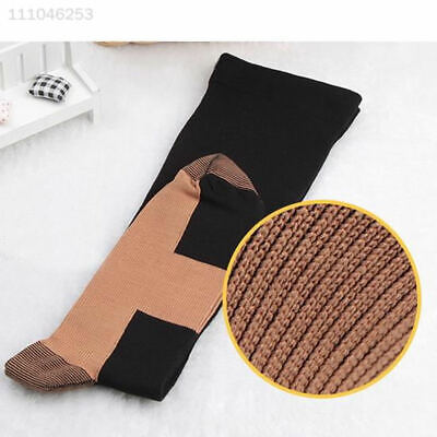 56D6 Varicose Stocking Womens Sports Anti Fatigue Relief Compression Socks Mens