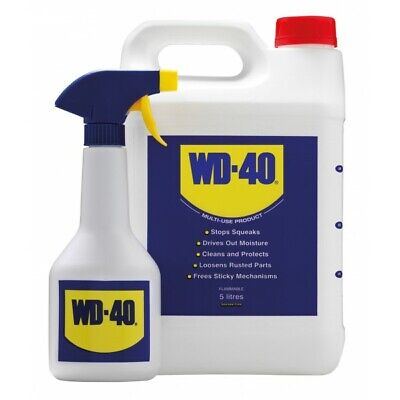 WD40 WD-40 With Spray Applicator - 5 Litre 44506