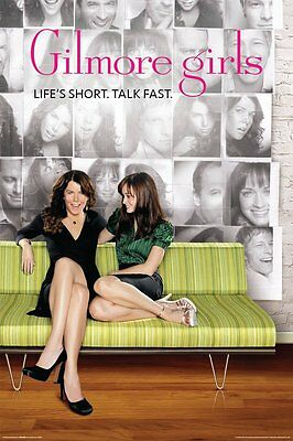 GILMORE GIRLS - TV SHOW POSTER - 24x36 - 52041