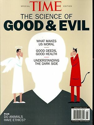 Time The Science Of Good And Evil Issue Magazine Back Issue NEW