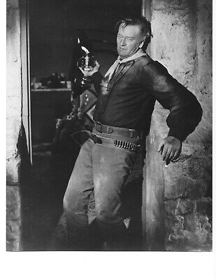 John Wayne  ( Black and White 8x10 ) Photo