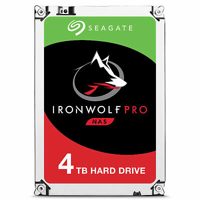 "Seagate ST4000NE0025 4TB IronWolf Pro - Hdd - Serial ATA 3.5 "" - 4,000 GB"