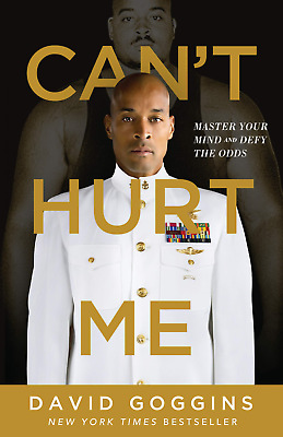 Cant Hurt Me Master Your Mind and Defy by David Goggins Hardcover