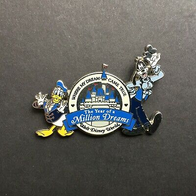 WDW - The Year of a Million Dreams Goofy and Donald Duck - Disney Pin 49898
