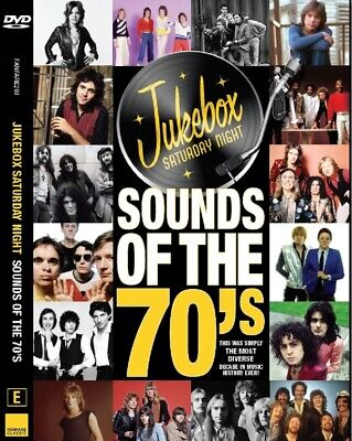 JUKEBOX SATURDAY NIGHT SOUNDS OF THE 70's DVD ~ T REX~SLADE~SUZI QUATRO ++ *NEW*