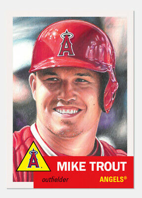 2019 Topps Living Set #200 Mike Trout  California Angels HOF???