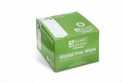 CLICK MEDICAL ALCOHOL FREE (Pack of 100)