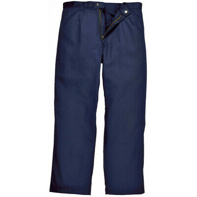 PORTWEST Bizweld Trousers - Navy - Small (Tall) BZ30NATS