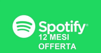 Spotify Premium 12 Mesi Privato Cambio Password Unico Account No Cambio Mensile
