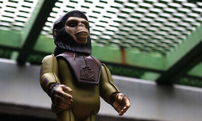 MEDICOM TOY Planet Of The Apes Cornelius Wind up Tin Toy Vintage Rare From Japan