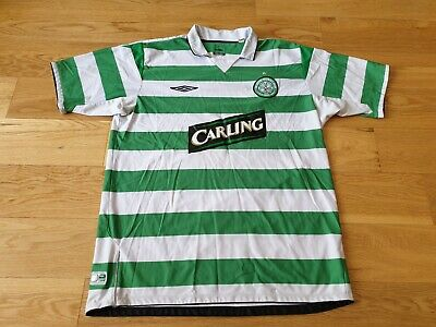 new product 9075d 23ebd MENS UMBRO CELTIC Home football shirt 2004 - 2005 Size XL