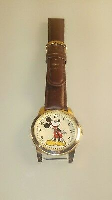 Disney Mickey Mouse watch MCK957C MZB needs band repair or replacement untested