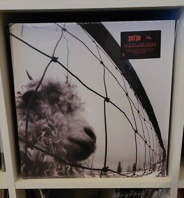 Pearl Jam- Vs And Ten Vinyl Records Sealed Nirvana Soundgarden Alice In Chains