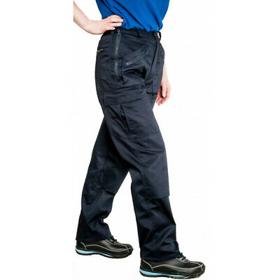 PORTWEST Ladies Action Trousers - Navy - Small S687NARS