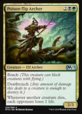 MTG 4x Thornweald Archer Moderate Play