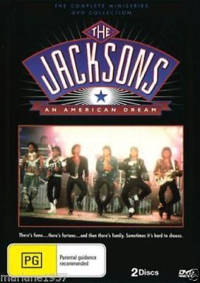 The Jacksons Dvd  2 Disc Set ..an American Dream.brand New And Sealed