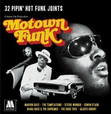Various Artists - Motown Funk - Various Artists CD ISVG The Cheap Fast Free Post