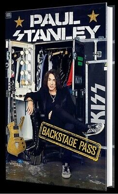 Paul Stanley KISS Backstage Pass [2019] [Hardcover] New Great Condition!