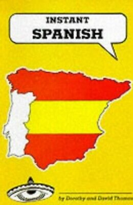 Instant Spanish (Instant Language Guides Series) by Thomas, David Paperback The