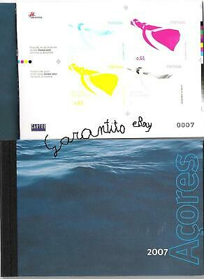 PORTUGAL  BOOKLET AZZORRE  full Year 2007, perfect