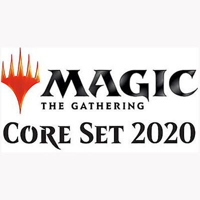 Complete Playsets (4x) - Magic Common, Land Core 2020 M20 Cards Pack Fresh 07/12