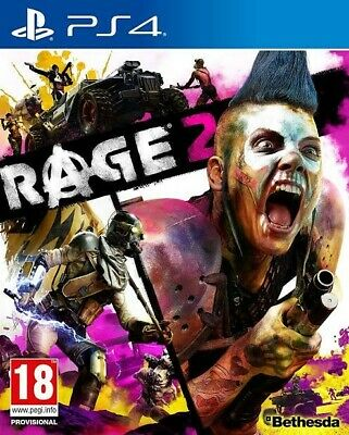 Rage 2 (PLAYSTATION 4) - BRAND NEW FACTORY SEALED - FAST & FREE SHIPPING
