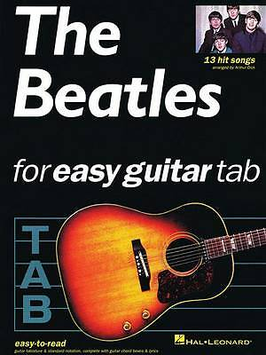 The Beatles For Easy Guitar Tablature by Dick, Arthur (Paperback book, 1998)