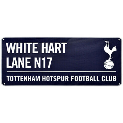 Tottenham Hotspur FC Street Sign (40 x 18cm) Official Club Merchandise NEW