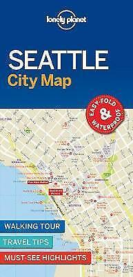 Lonely Planet Seattle City Map by Lonely Planet (Sheet map, folded book, 2017)