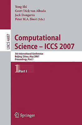 Computational Science - ICCS 2007. 7th International Conference, Beijing China,