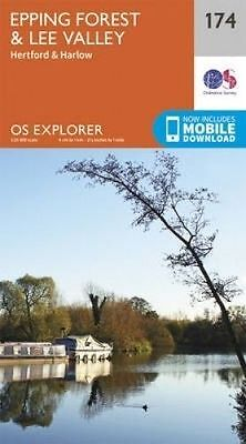 Epping Forest & Lee Valley by Ordnance Survey (Sheet map, folded book, 2015)