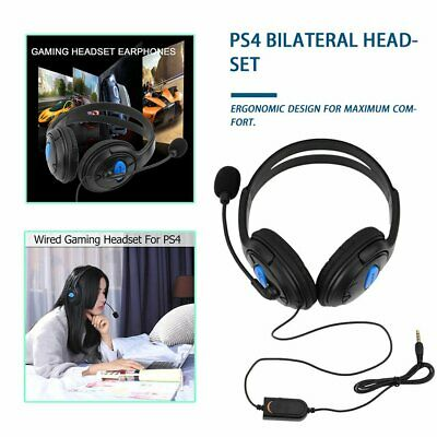 Wired Gaming Headset Headphones with Microphone for Sony PS4 PlayStation 4 AU