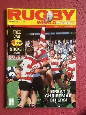 Rugby World Magazine November 1987