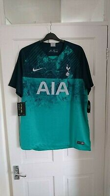 pretty nice 06206 aa712 TOTTENHAM HOTSPUR SPURS Nike 2018/2019 Away 3rd SHIRT Jersey - XL - Brand  New!
