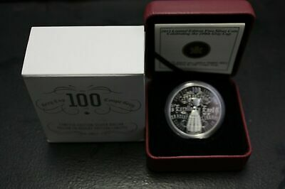 Royal Canadian Mint 2012 100th Grey Cup CFL Football Championship Silver Dollar