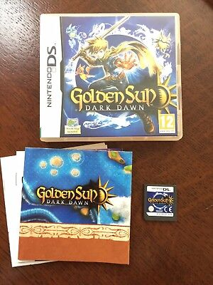 GOLDEN SUN: DARK Dawn (Nintendo DS) - £16 55 | PicClick UK