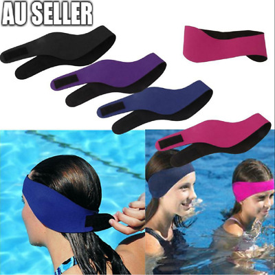 Children's Adult's Swimming Ear Head Protector Band Neoprene Wetsuit Head Band