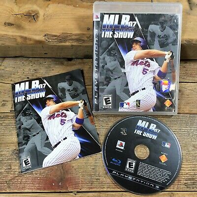 MLB 07: The Show (Playstation 3) Baseball - Region 1 US/CAN ~ Complete