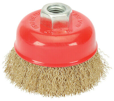 Draper 80mm x M14 Crimped Wire Cup Brush - 41444 |Next Working Day to UK